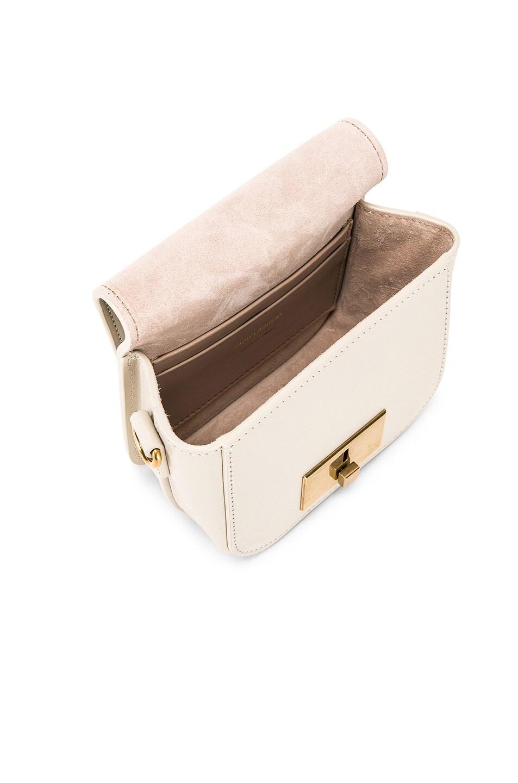 Image 5 of Saint Laurent Mini Betty Satchel Bag in Blanc Vintage
