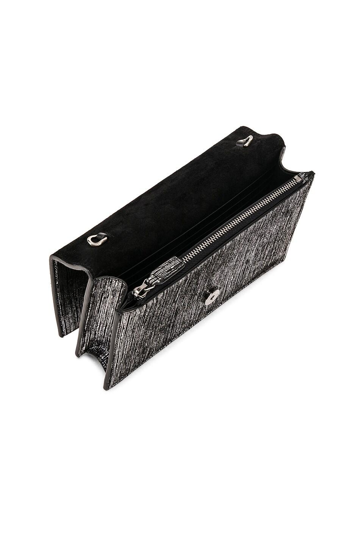 Image 5 of Saint Laurent Monogramme Kate Chain Tassel Wallet Bag in Black