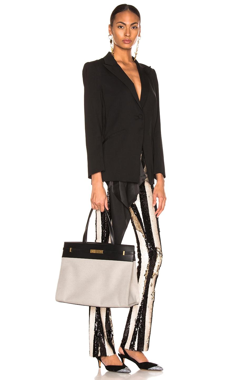 Image 2 of Saint Laurent Medium Manhattan Bag in Black