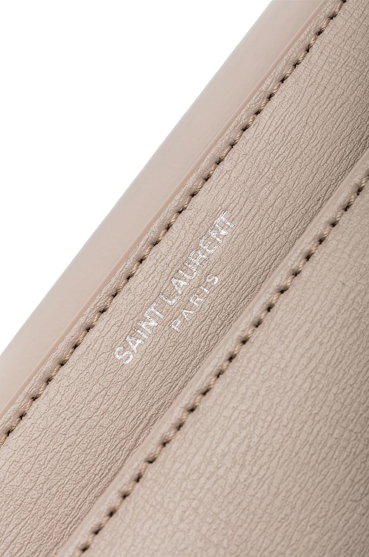 Image 7 of Saint Laurent Monogramme Sunset Shoulder Bag in Light Natural