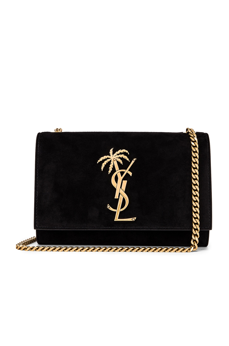 Image 1 of Saint Laurent Small Monogramme Kate Bag in Black