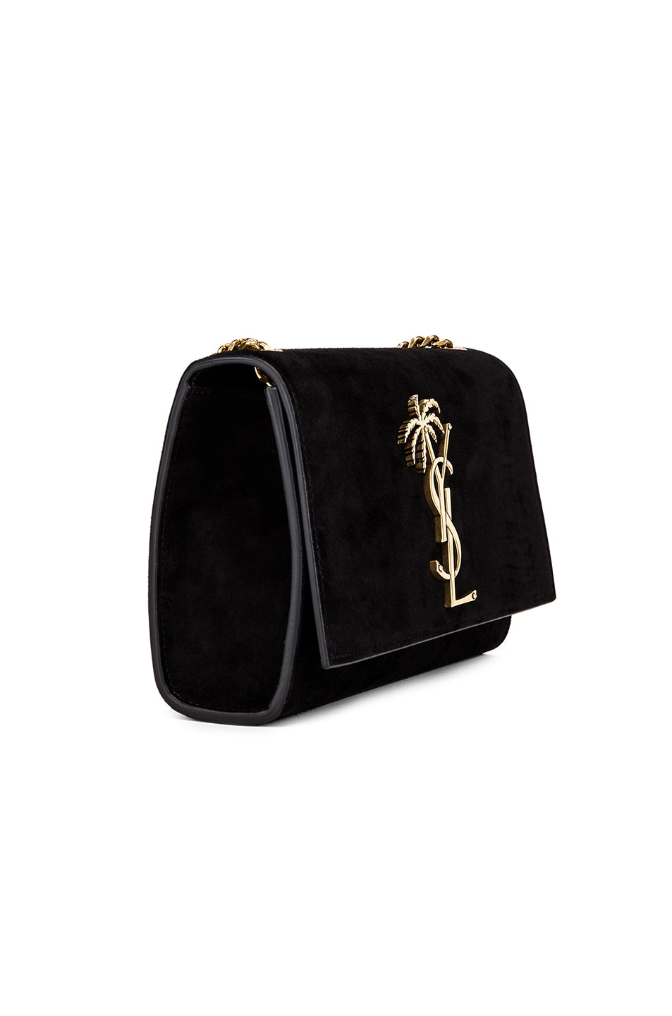 Image 4 of Saint Laurent Small Monogramme Kate Bag in Black
