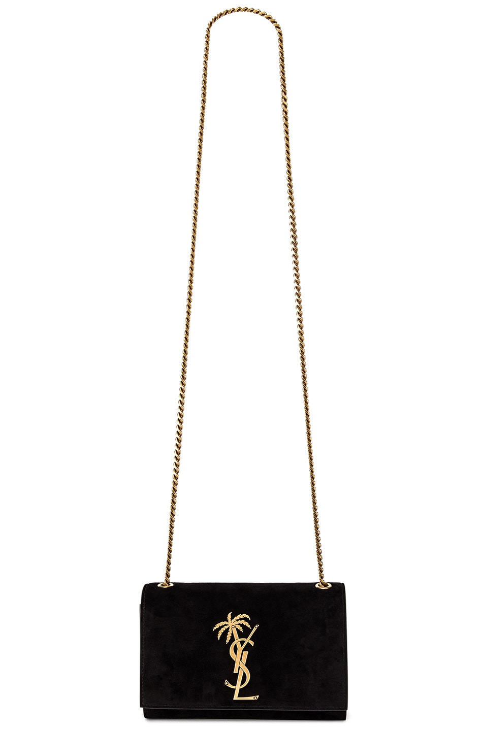 Image 6 of Saint Laurent Small Monogramme Kate Bag in Black