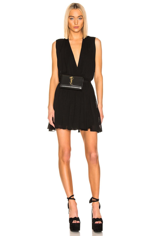 Image 2 of Saint Laurent Kate Belt Bag in Black