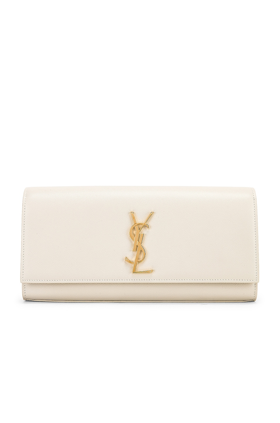 Image 1 of Saint Laurent Kate Clutch in Blanc Vintage