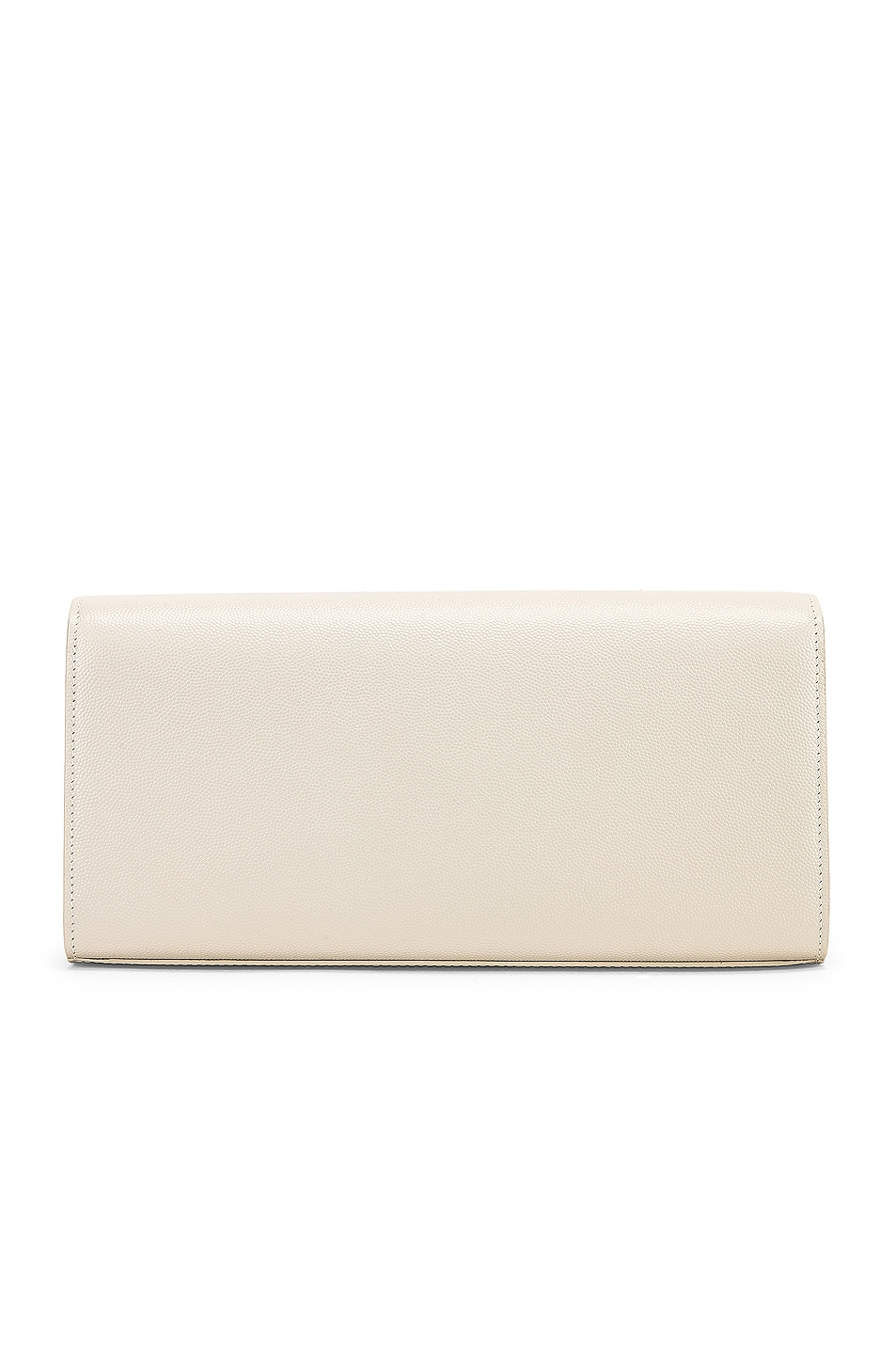 Image 3 of Saint Laurent Kate Clutch in Blanc Vintage
