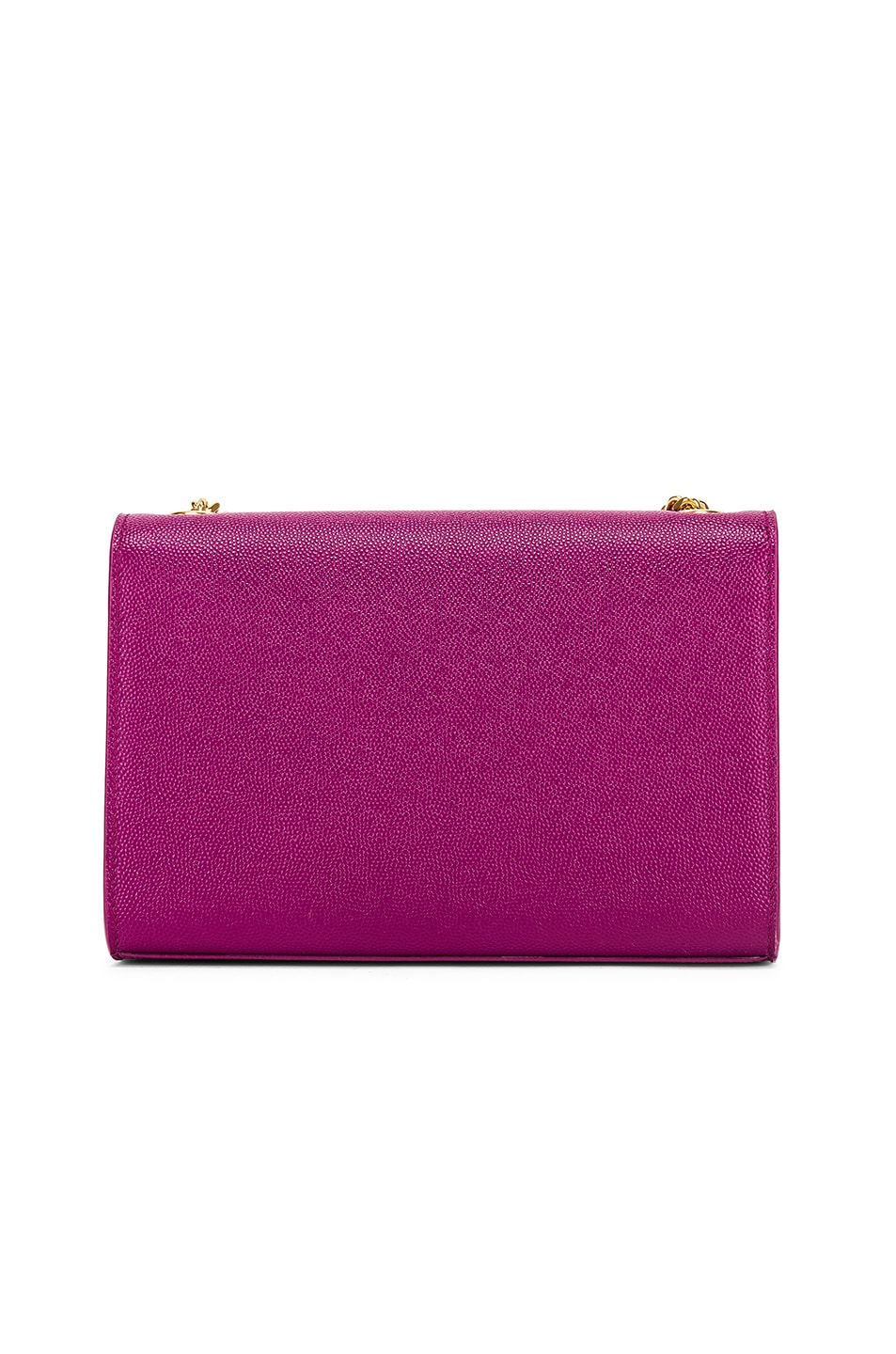 Image 3 of Saint Laurent Small Kate Monogramme Chain Bag in Light Grape
