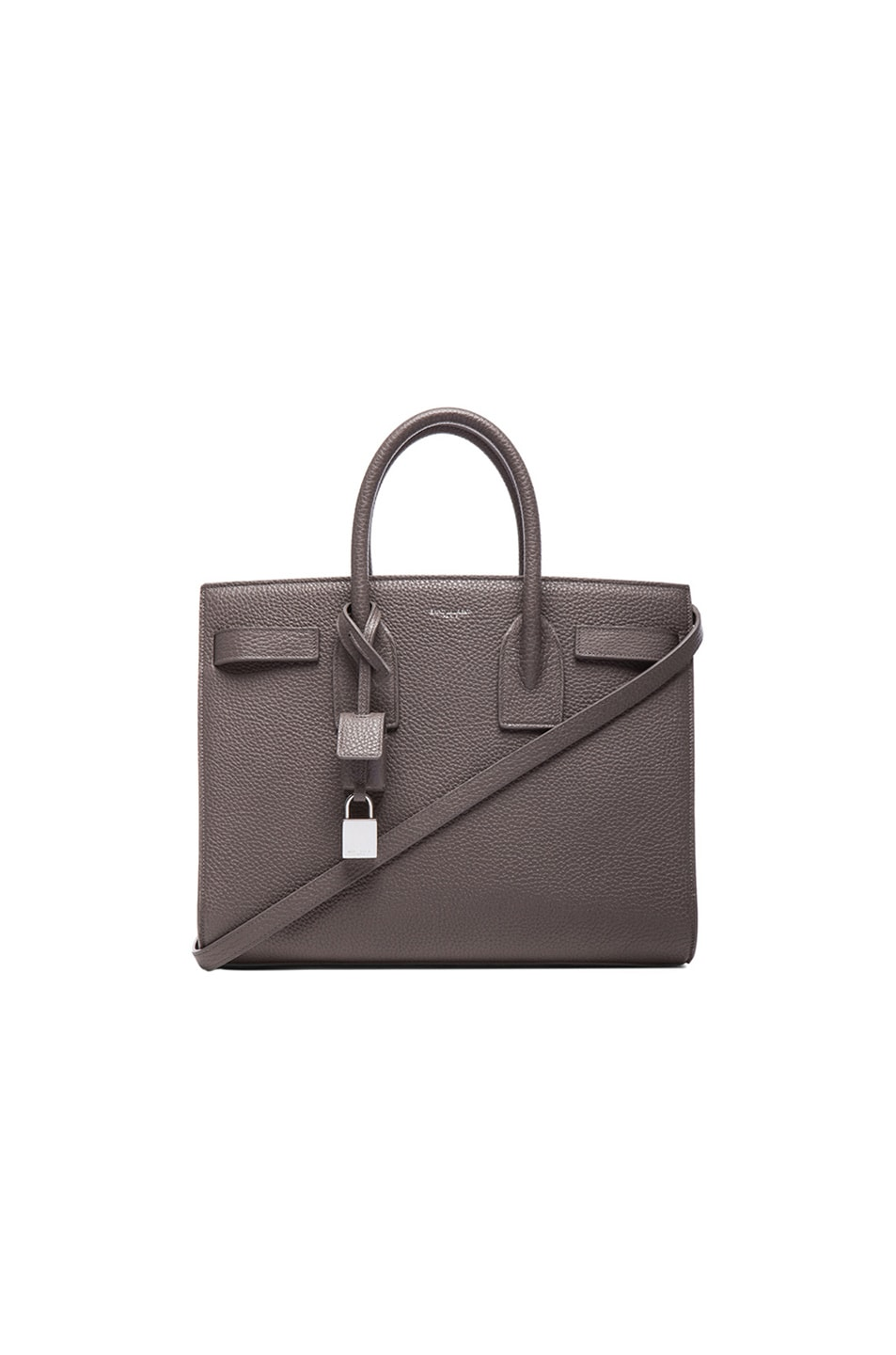 Image 1 of Saint Laurent Small Sac De Jour Carryall Bag in Fog