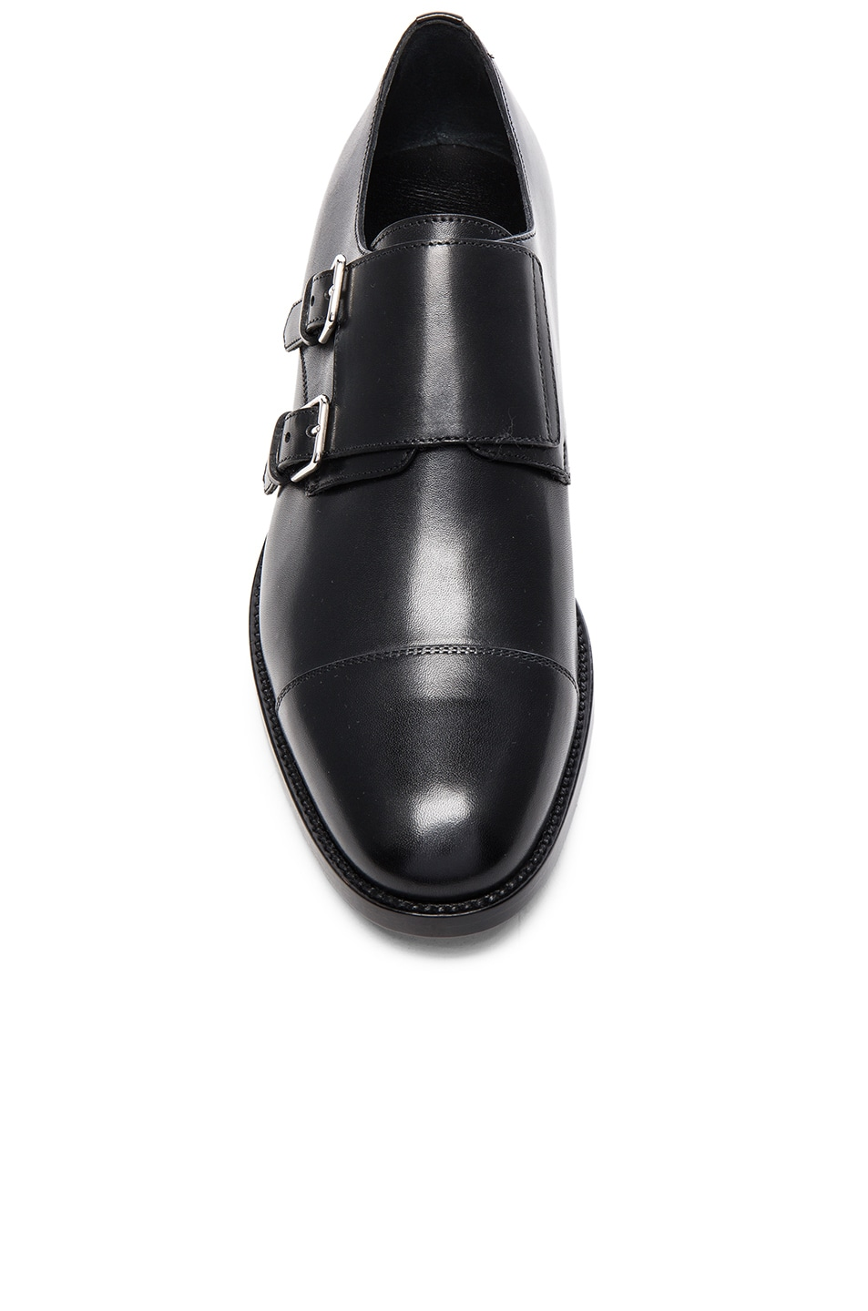 Image 4 of Saint Laurent Dylan Monk Shoes in Black