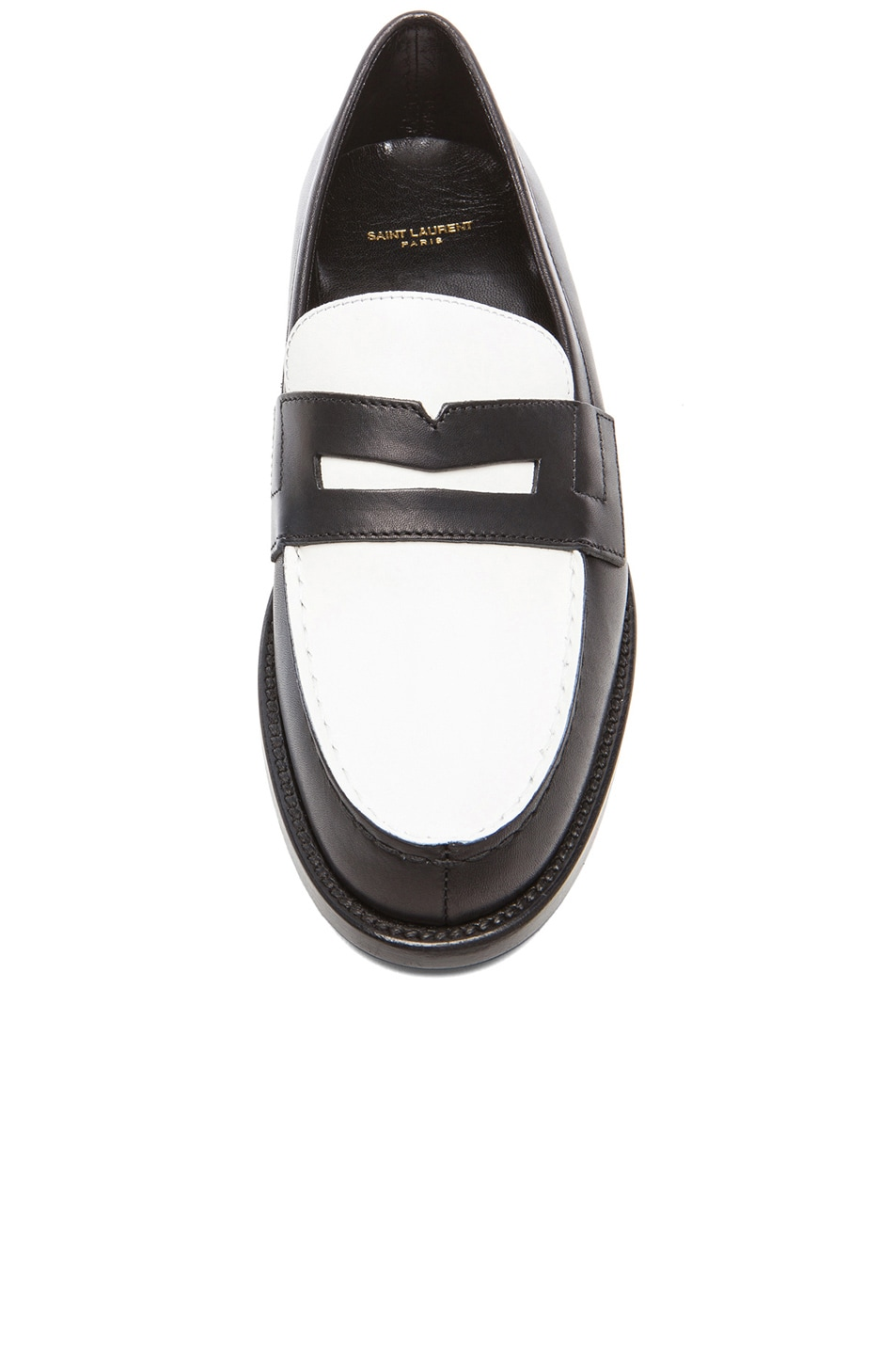 moccasin loafers - Black Saint Laurent bAFJmb