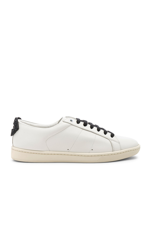 Lips Sneaker, White