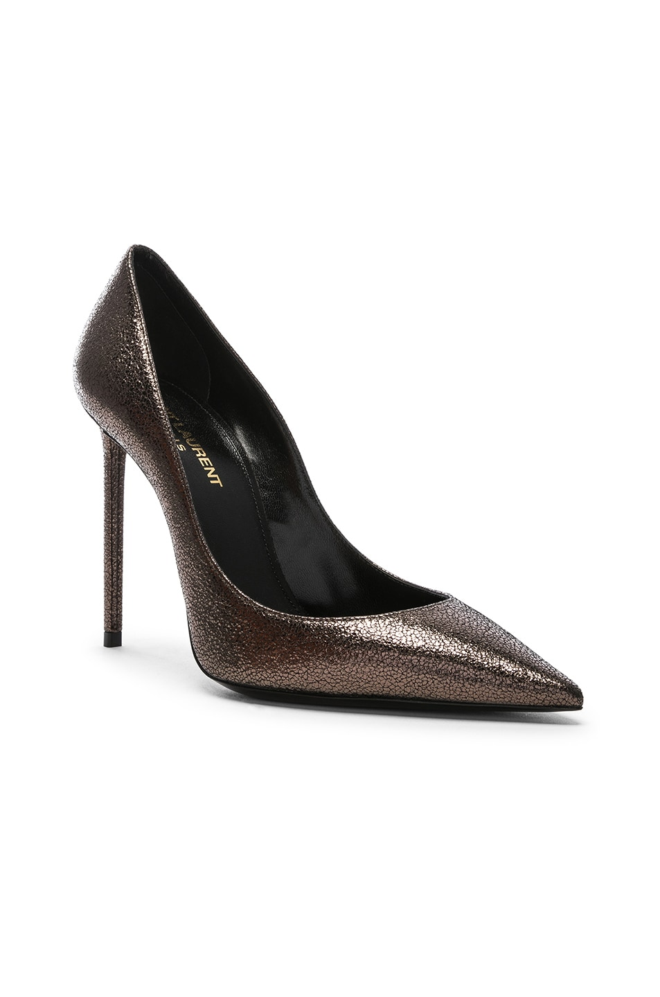Image 2 of Saint Laurent Zoe Pumps in Gunmetal