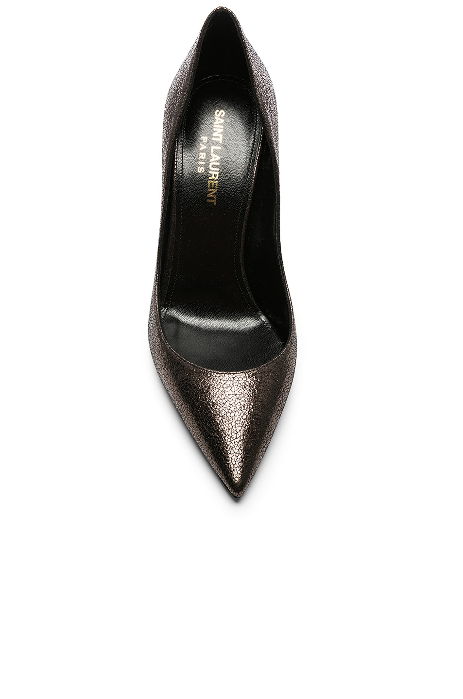 Image 4 of Saint Laurent Zoe Pumps in Gunmetal