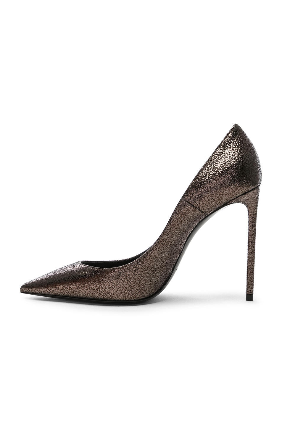 Image 5 of Saint Laurent Zoe Pumps in Gunmetal