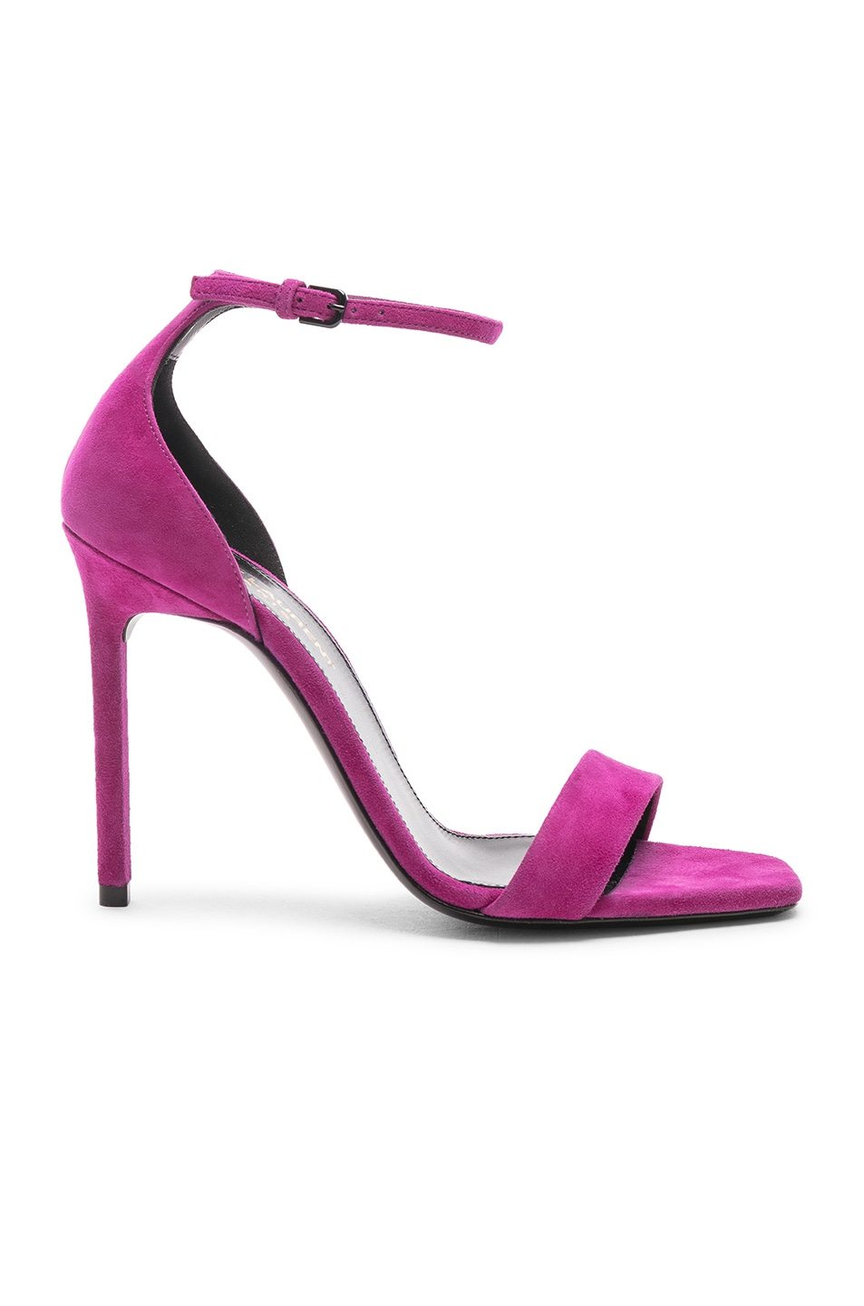 Image 1 of Saint Laurent Lou Lou Heels in Pink