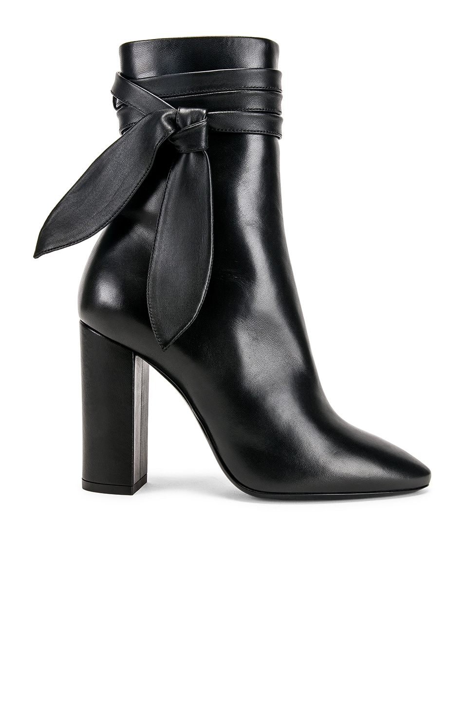Image 1 of Saint Laurent Lou Bootie in Black