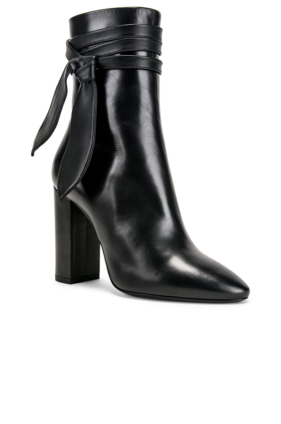 Image 2 of Saint Laurent Lou Bootie in Black