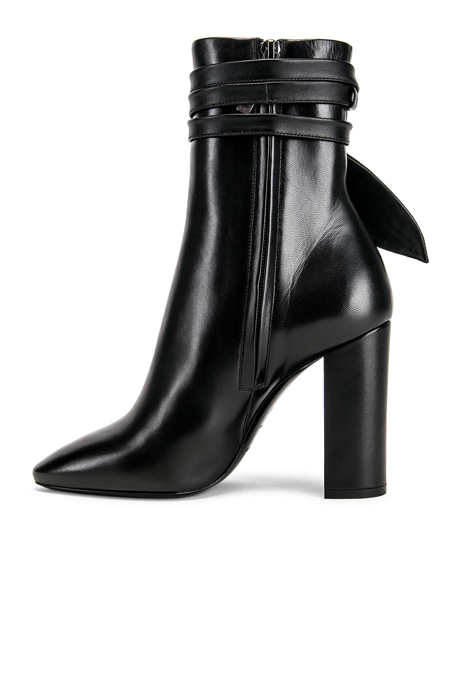 Image 5 of Saint Laurent Lou Bootie in Black