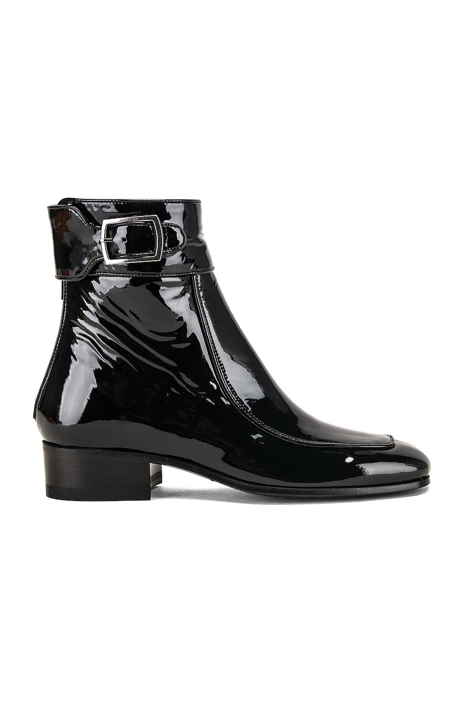 Image 1 of Saint Laurent Miles Bootie in Black