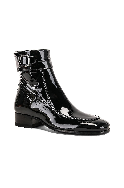 Image 2 of Saint Laurent Miles Bootie in Black