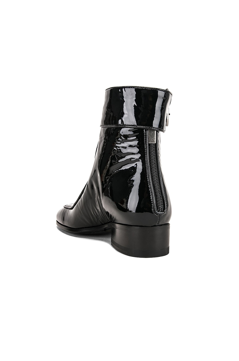 Image 3 of Saint Laurent Miles Bootie in Black