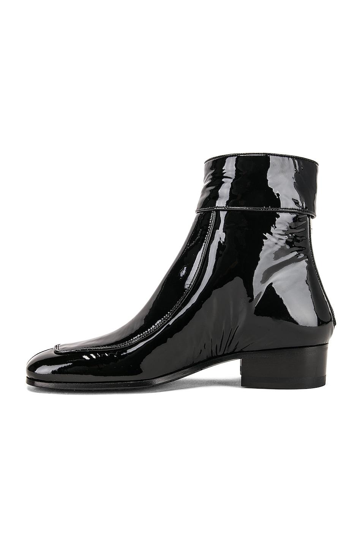 Image 5 of Saint Laurent Miles Bootie in Black