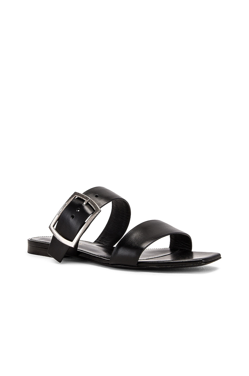 Image 2 of Saint Laurent Jodie Sandal in Black