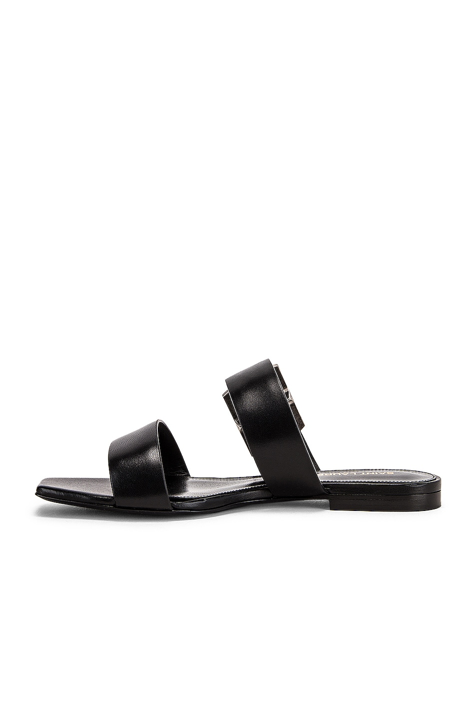 Image 5 of Saint Laurent Jodie Sandal in Black