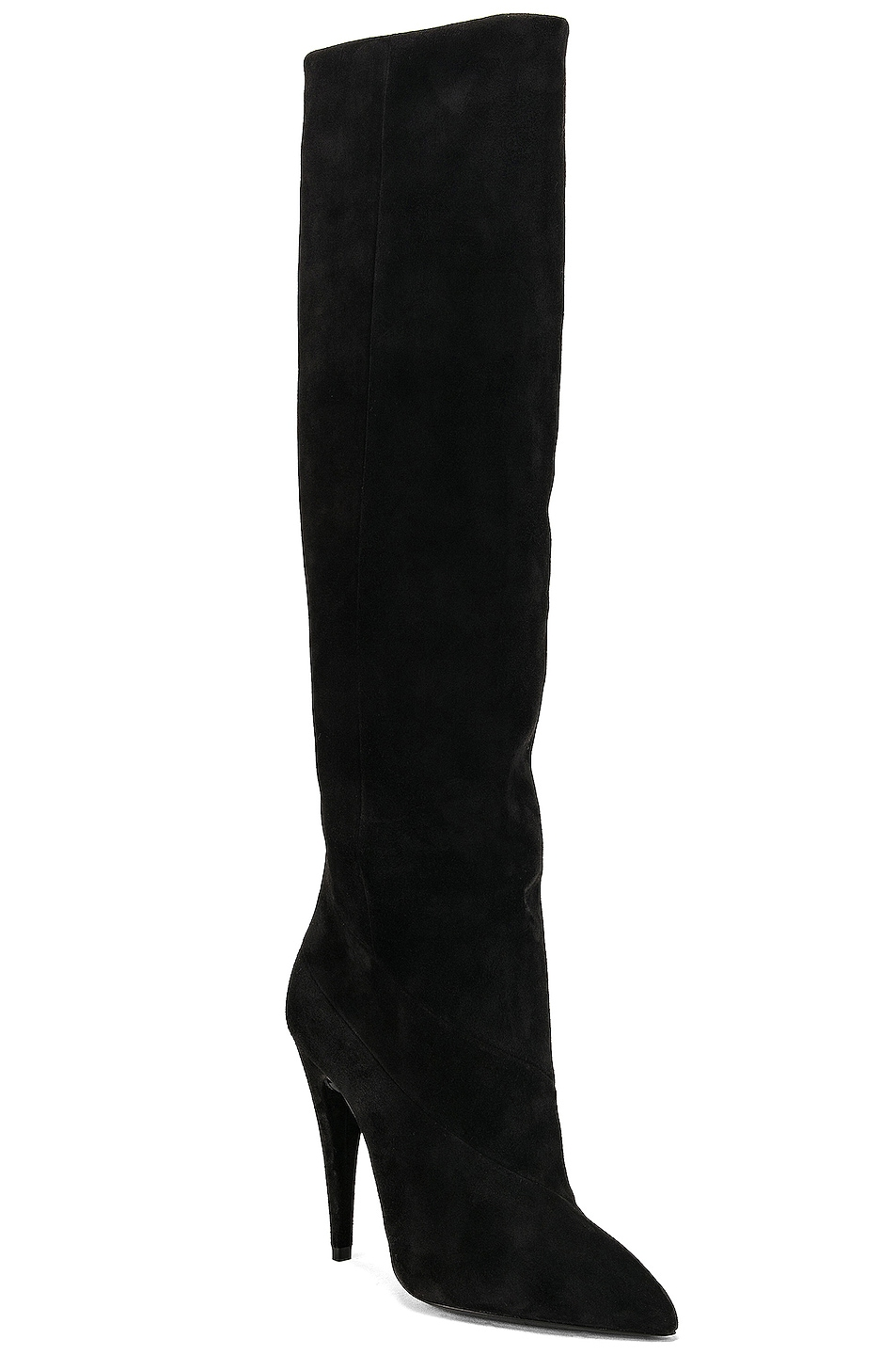 Image 2 of Saint Laurent Abbey Boot in Black