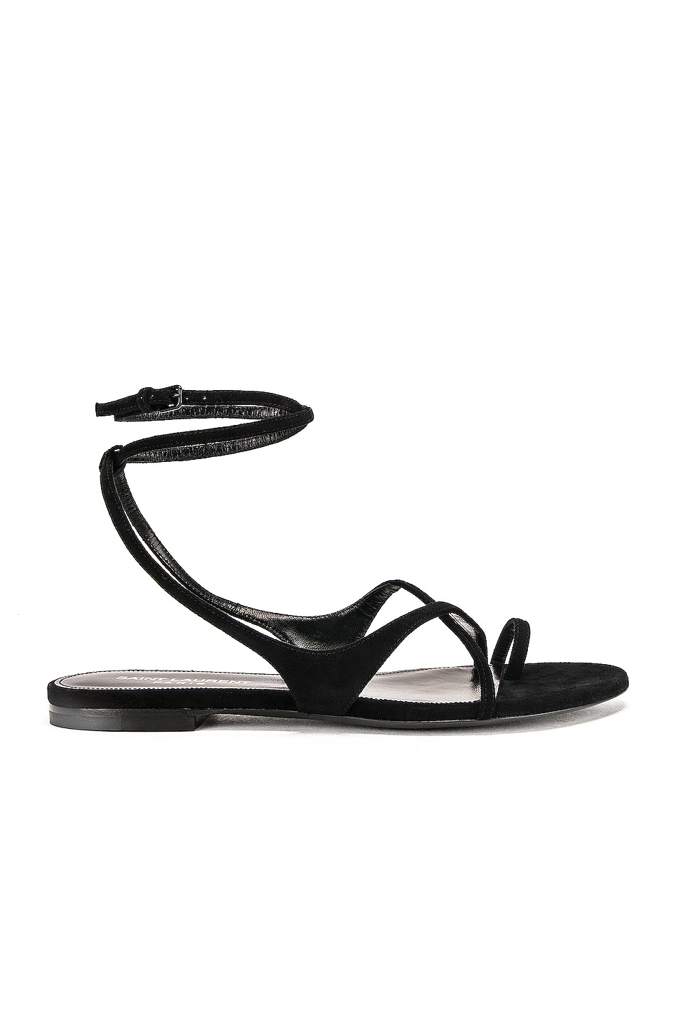 Image 1 of Saint Laurent Gia Sandal in Black