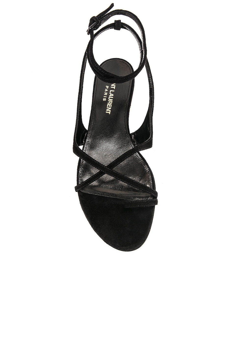 Image 4 of Saint Laurent Gia Sandal in Black