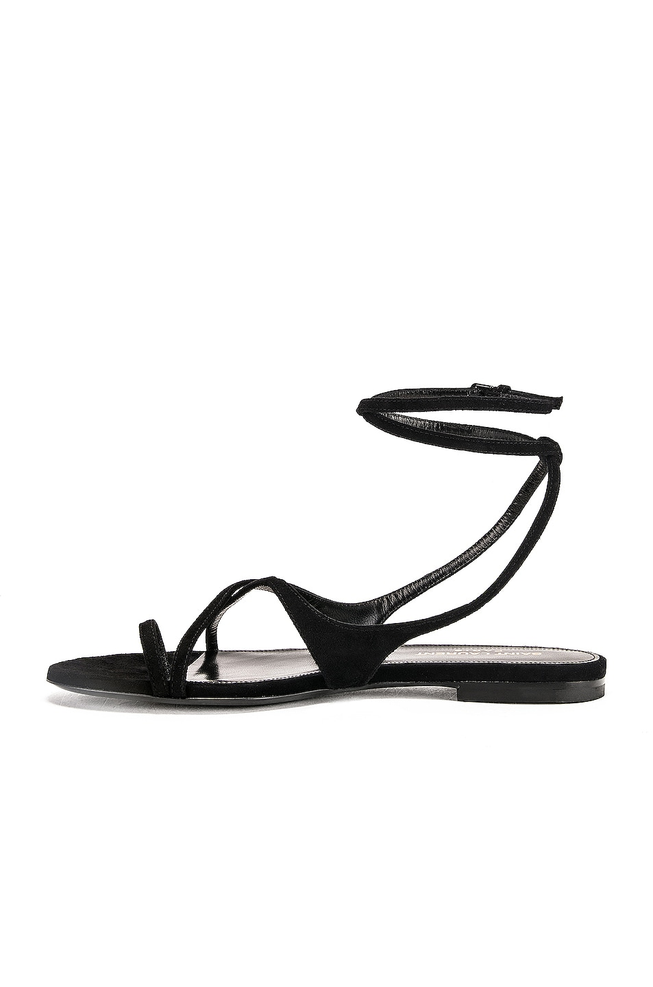 Image 5 of Saint Laurent Gia Sandal in Black