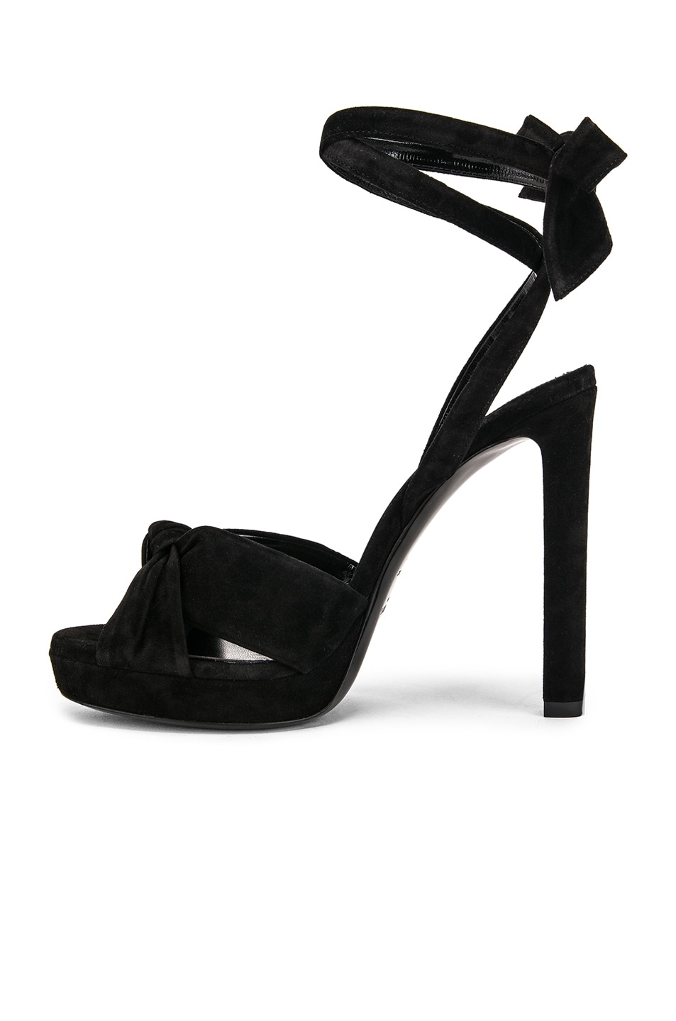 Image 5 of Saint Laurent Hall Bow Heel in Black