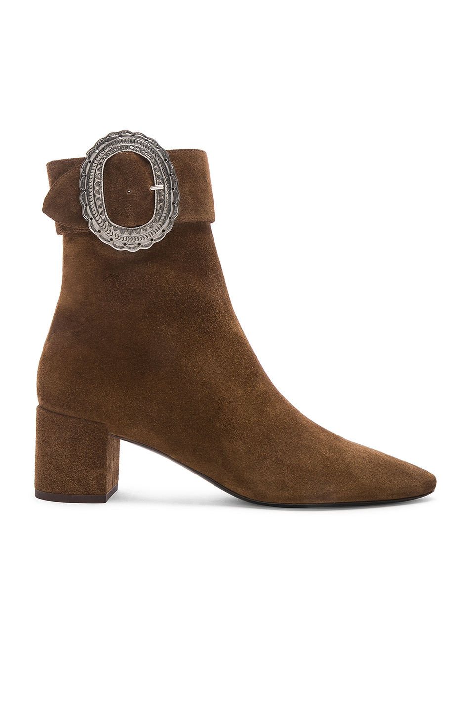 Image 1 of Saint Laurent Joplin Booties in Land