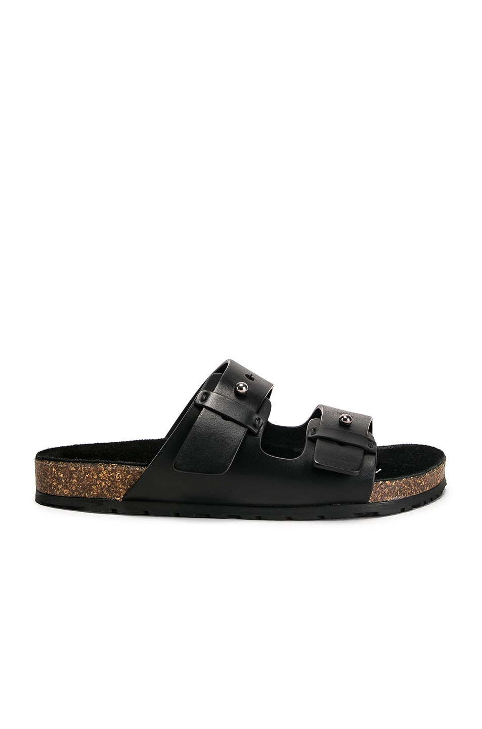 Image 1 of Saint Laurent Jimmy Sandals in Black