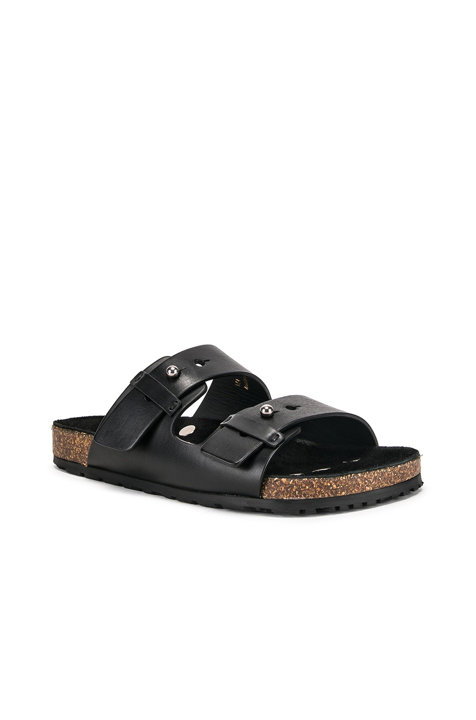 Image 2 of Saint Laurent Jimmy Sandals in Black
