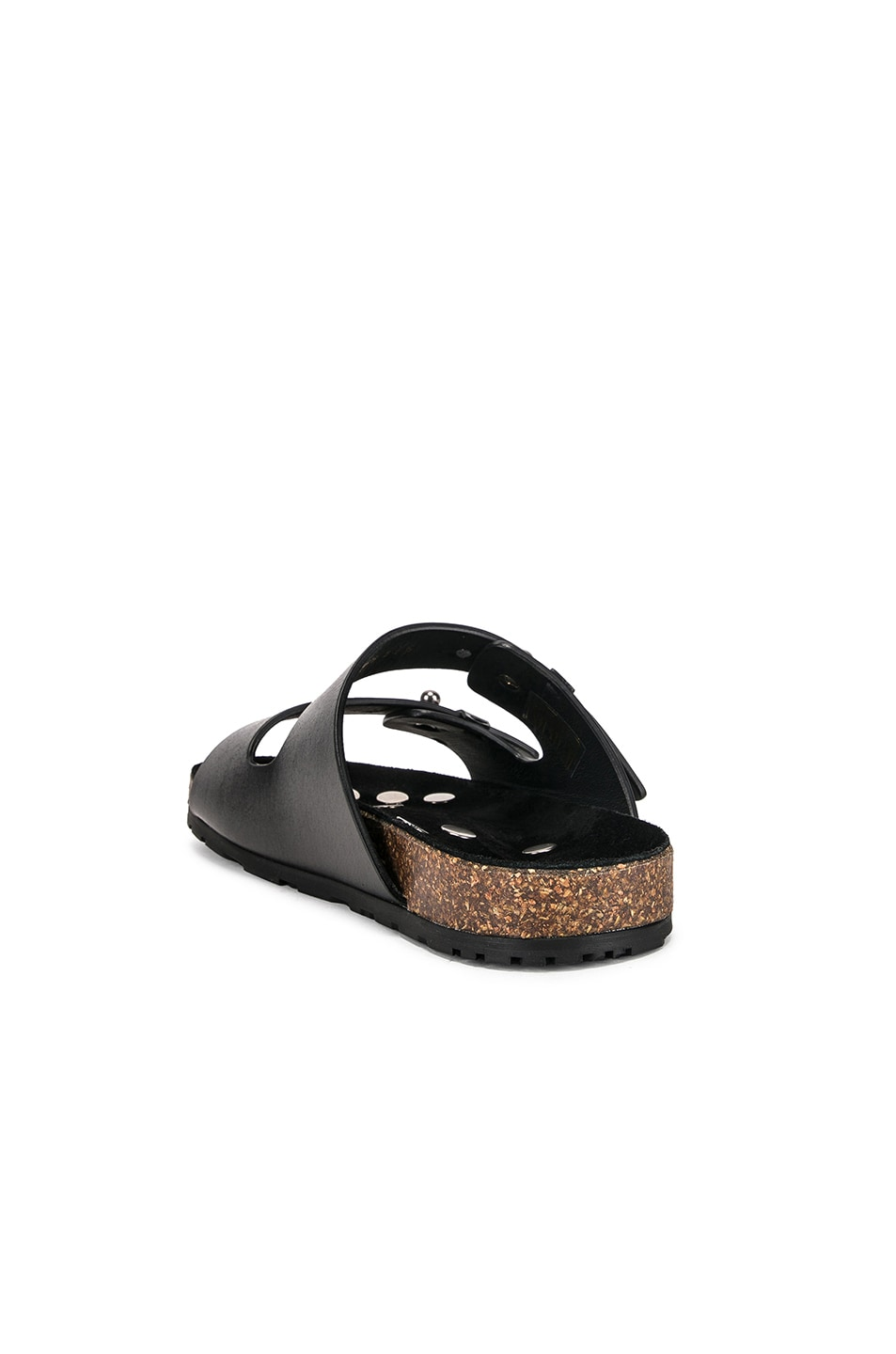 Image 3 of Saint Laurent Jimmy Sandals in Black