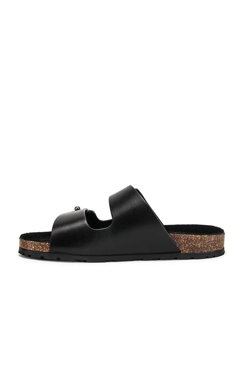Image 5 of Saint Laurent Jimmy Sandals in Black