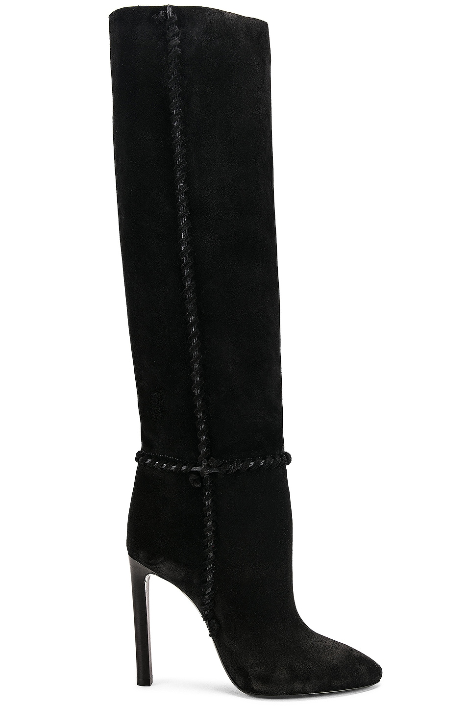 Image 1 of Saint Laurent Mica Boots in Black