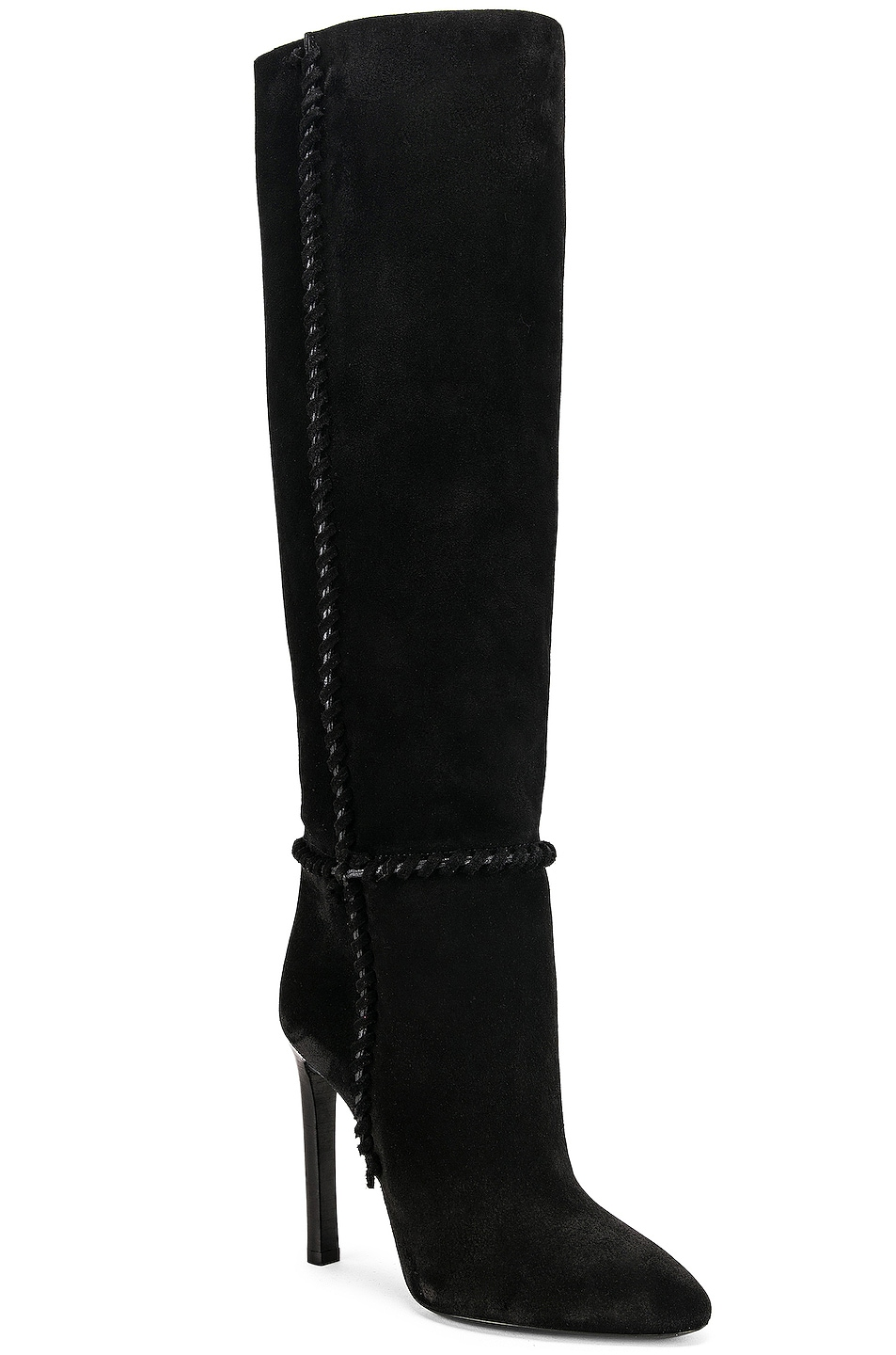 Image 2 of Saint Laurent Mica Boots in Black
