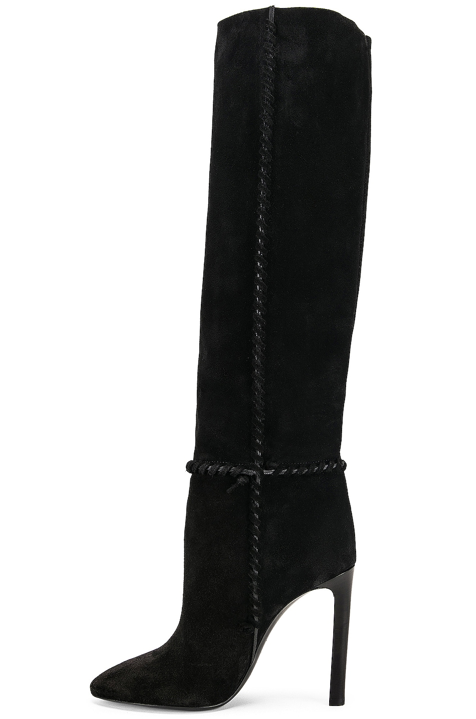 Image 5 of Saint Laurent Mica Boots in Black