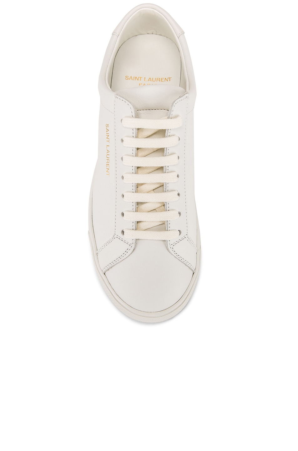 Image 4 of Saint Laurent Andy Sneaker in White