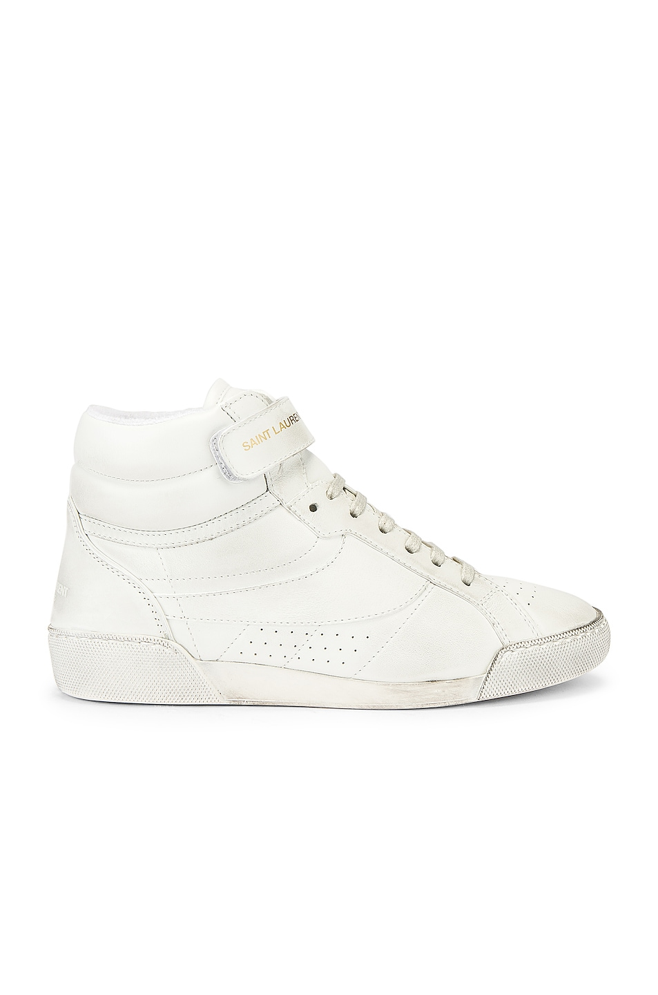 Image 1 of Saint Laurent High Top Sneaker in White