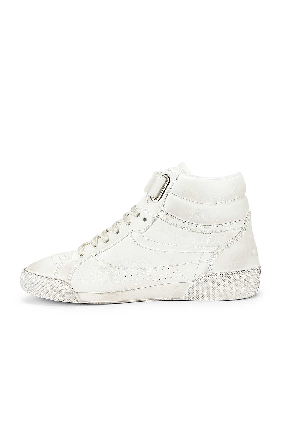 Image 5 of Saint Laurent High Top Sneaker in White