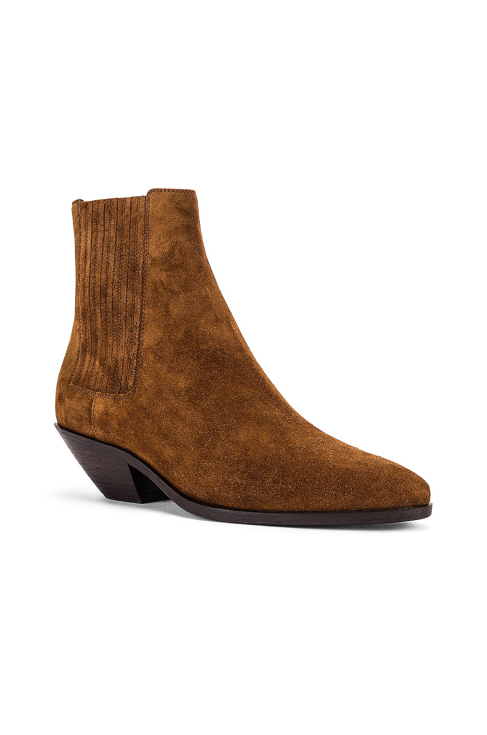 Image 2 of Saint Laurent West Chelsea Boots in Land