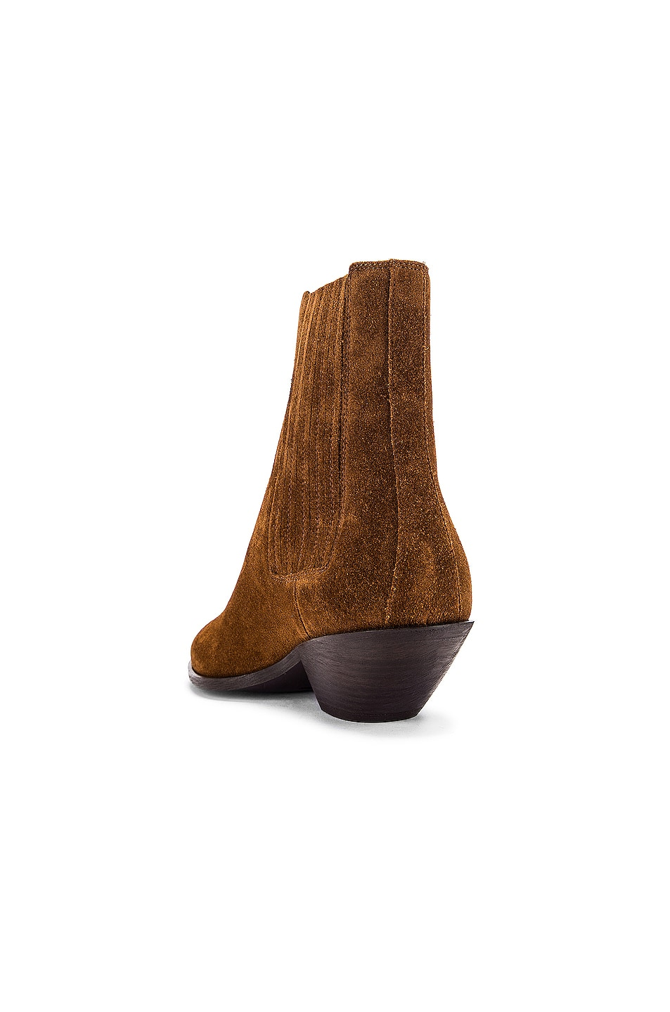 Image 3 of Saint Laurent West Chelsea Boots in Land
