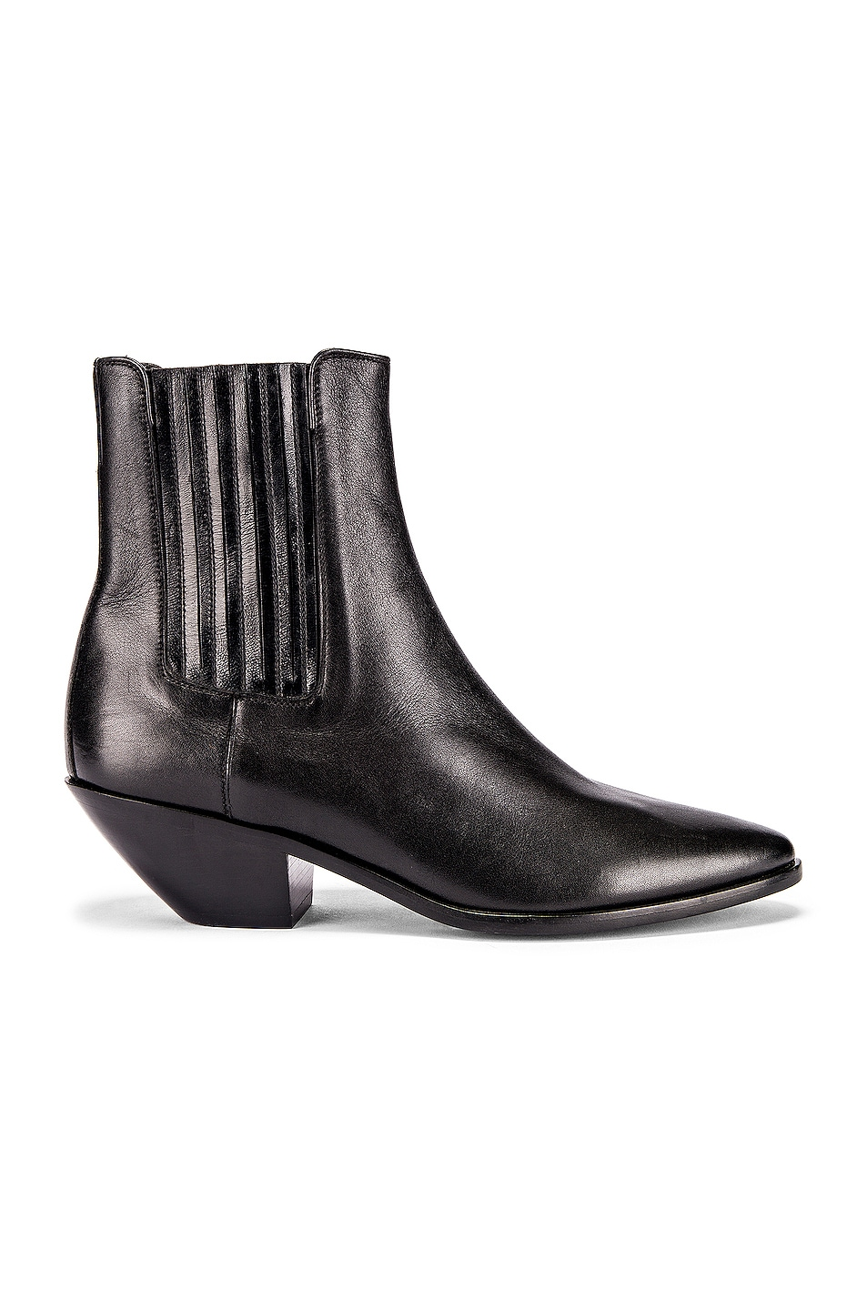 Image 1 of Saint Laurent West Chelsea Boots in Black