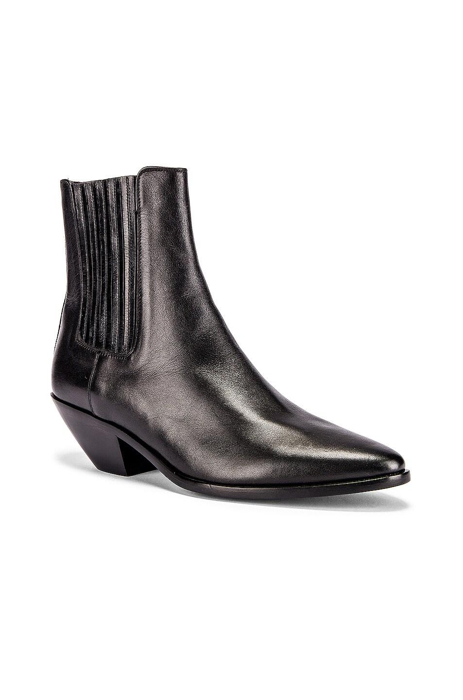 Image 2 of Saint Laurent West Chelsea Boots in Black