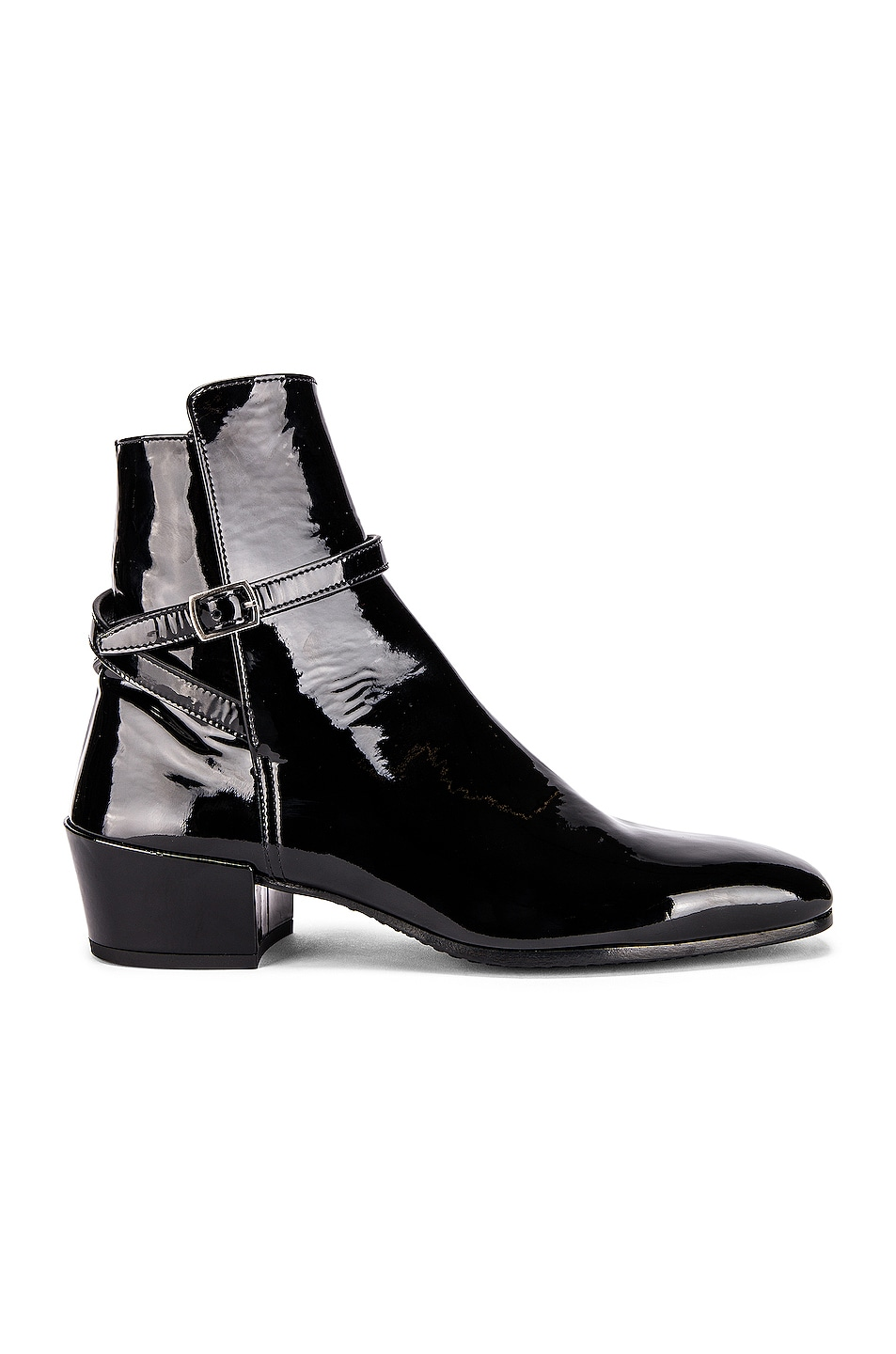 Image 1 of Saint Laurent Clementi Jodhpur Booties in Black