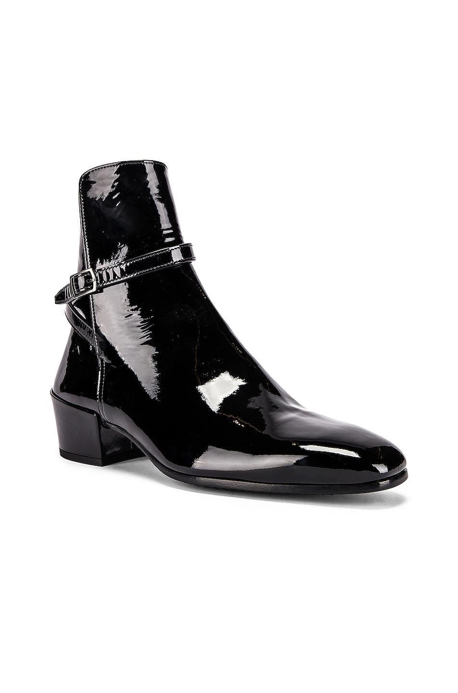 Image 2 of Saint Laurent Clementi Jodhpur Booties in Black